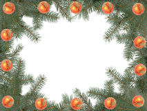 Christmas framework Stock Photos