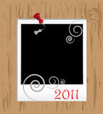 Christmas Framework. In scrapbooking style Royalty Free Stock Image