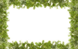 Christmas framework Stock Images