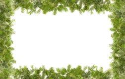 Christmas framework. Isolated on white background Stock Images
