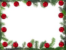 Christmas framework Royalty Free Stock Photos