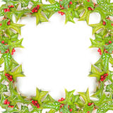 Christmas framework isolated Stock Photos