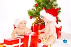 christmas friends 免版税图库摄影