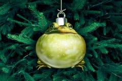 Free Christmas Frog Ornament Stock Photo - 101069480