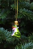 Christmas Frog Prince Tree Ornament Stock Photo
