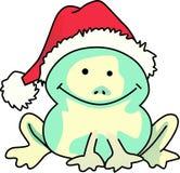 CHRISTMAS FROG Royalty Free Stock Photography