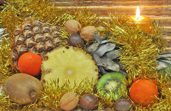 Christmas fruit Royalty Free Stock Images