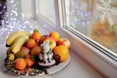 Christmas fruit Royalty Free Stock Photo