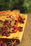 Christmas Fruit Cake Royalty Free Stock Images