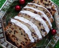 Christmas fruit cake. Gift, christmas decor Stock Photo