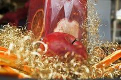 Christmas fruit decoration Stock Image