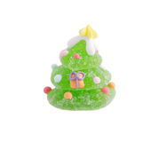 Christmas fruit jelly Royalty Free Stock Photo