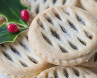 Christmas Fruit Mince Pies. Royalty Free Stock Images