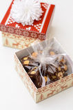 Christmas Fudge Royalty Free Stock Photography