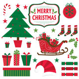 Christmas full sets design vector illustration
