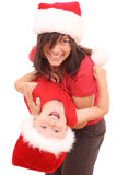 Christmas fun stock images