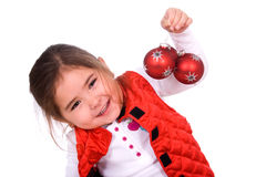 Christmas fun. Royalty Free Stock Photos