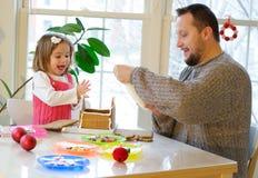 Christmas fun activities Royalty Free Stock Photos