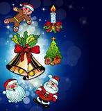Christmas Funny Stuff Background Stock Photos