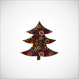 Christmas fur tree. Royalty Free Stock Photos