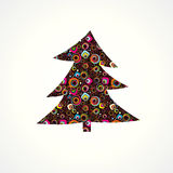 Christmas fur tree. Royalty Free Stock Images