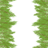 Christmas Fur-tree. Vector illustration. Christmas green Fur-tree with  decoration. Vector illustration Stock Images