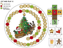 Christmas game royalty free stock images