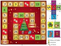 Christmas game Royalty Free Stock Photography