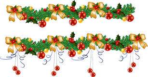 Christmas garland,  Royalty Free Stock Photo