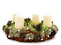 Christmas garland Stock Photos