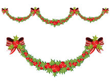 Christmas garland Stock Photos