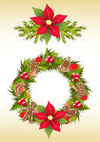 Christmas garland. Stock Photos