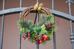 Christmas Garland. Stock Photo