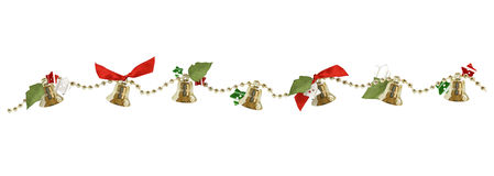 Christmas garland Royalty Free Stock Photos