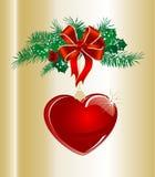 Christmas garland Royalty Free Stock Photos