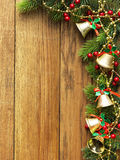 Christmas garland Stock Images