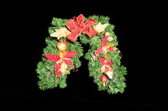 Christmas garland Stock Image