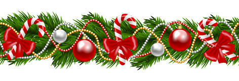 Christmas Garland Royalty Free Stock Images