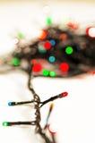 Christmas garland stock photography