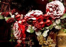 Garland, band, decoration,Christmas. Christmas garland with decorate of various types Stock Photography