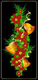 Christmas garland for decoration. Vector elements for Christmas decorations Royalty Free Stock Photos