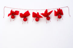 Christmas garland Stock Photography