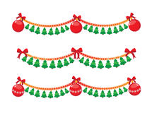 Christmas garland Stock Images