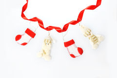 Christmas garland ornament Stock Photography