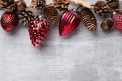 Christmas garland. Royalty Free Stock Photos