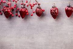 Christmas garland. Stock Photos
