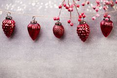 Christmas garland. Royalty Free Stock Images