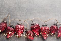 Christmas garland. Royalty Free Stock Photography
