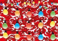 Christmas garland. Stock Image