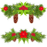 Christmas garland vector Stock Photo